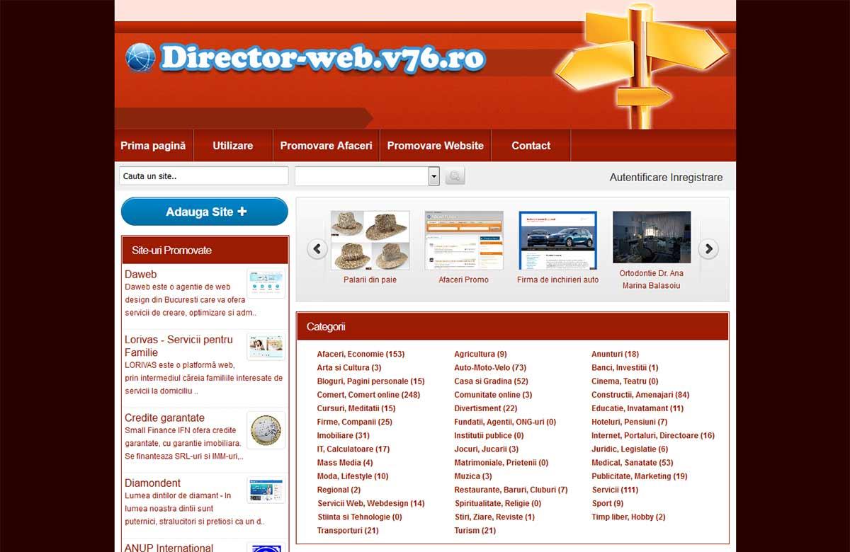 Director Web v76.ro